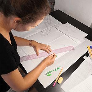 Stylisme et modélisme artisanal