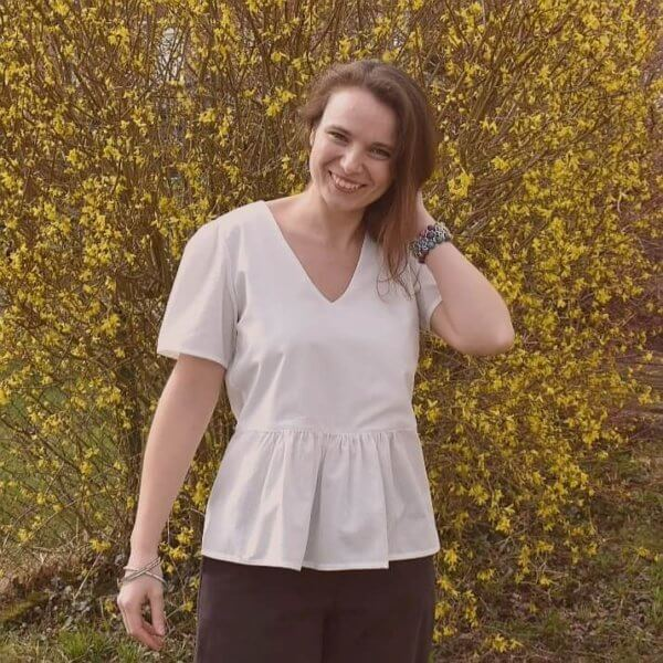 Blouse Peggy Blanche